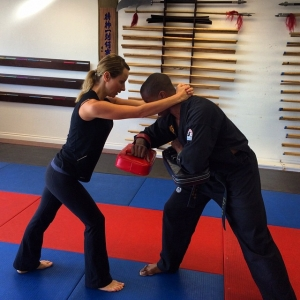 Great work today in our Women's Self Defense Class. Every…