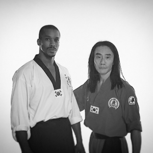 Grandmaster Taejoon Lee and Instructor Antonio D. Goodwin after the…