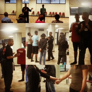 Kyosanim Goodwin was asked to teach a selfdefense workshop athellip