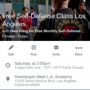 Free SelfDefense Class this Saturday June 27th at 2pm Comehellip