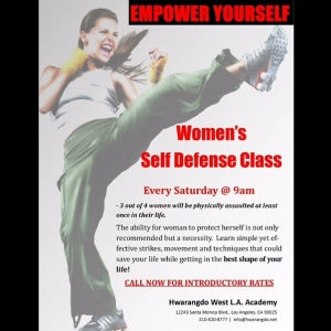 Womens Self Defense Classes every Saturday 9am hwarangdo womensselfdefense selfdefensehellip
